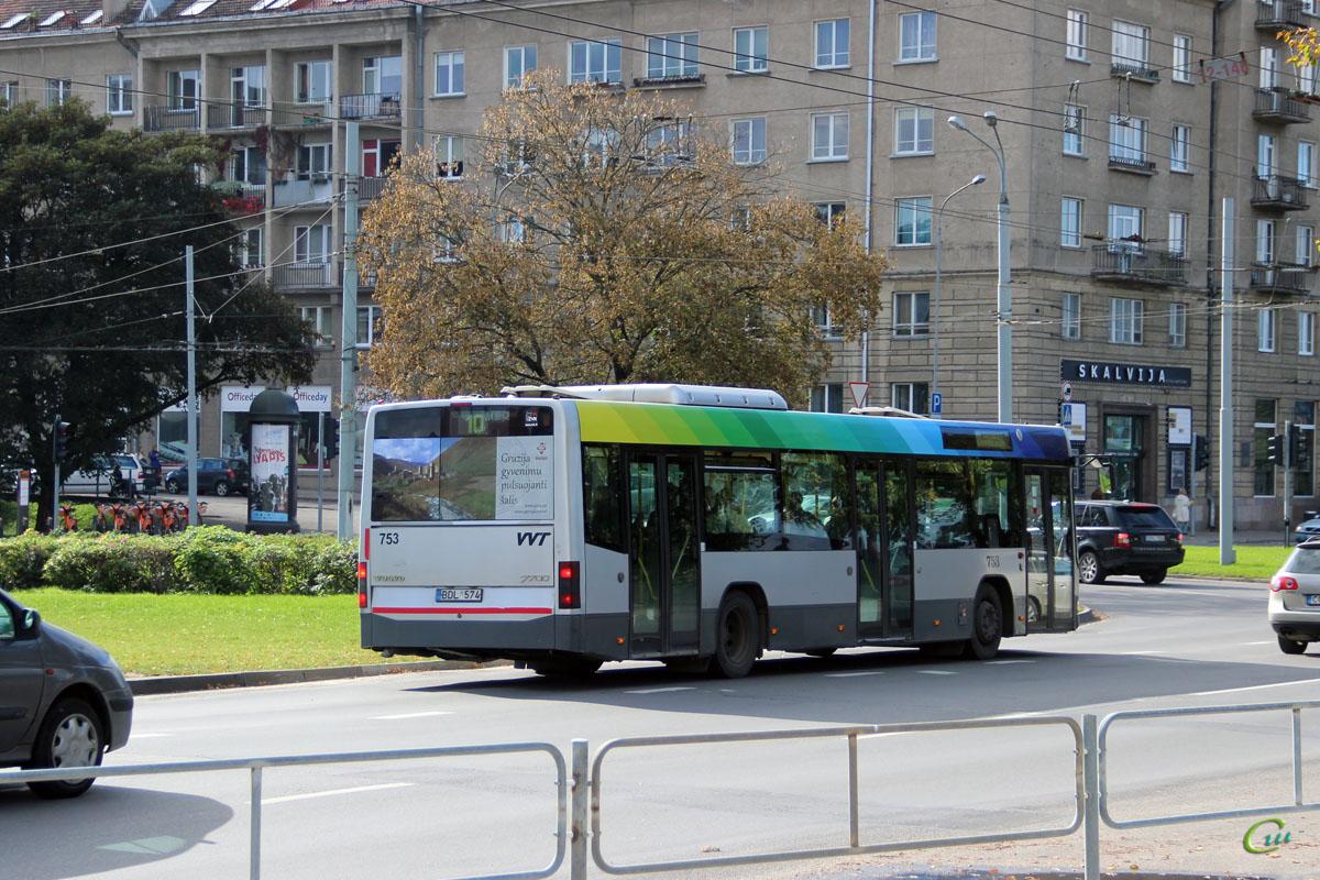 Вильнюс. Volvo 7700 BDL 574