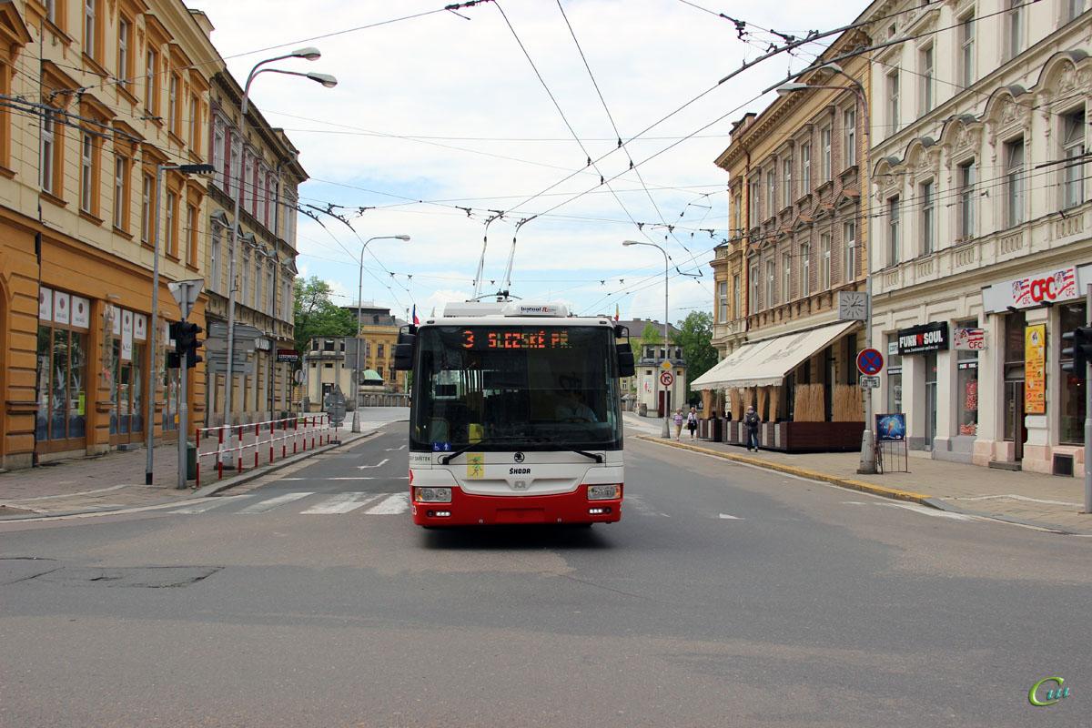 Градец-Кралове. Škoda 30Tr SOR №23