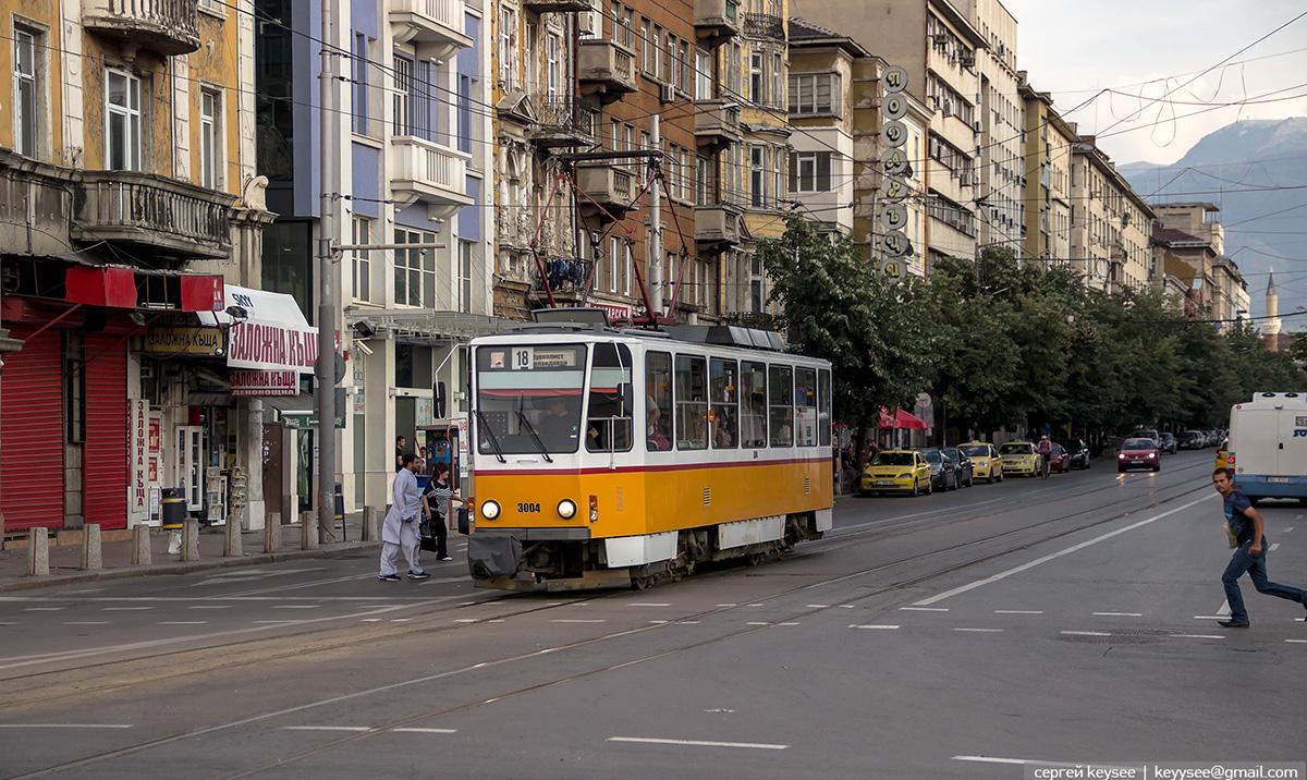 София. Tatra T6A2B №3001