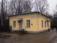 Санкт-Петербург. Здание диспетческой на к/ст «Карбюраторный завод»