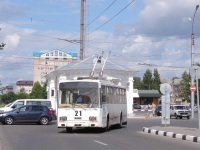 Великий Новгород. Škoda 14Tr №21