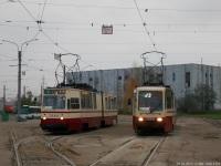 Санкт-Петербург. ЛВС-86К №7040, ЛВС-86К-М №7090