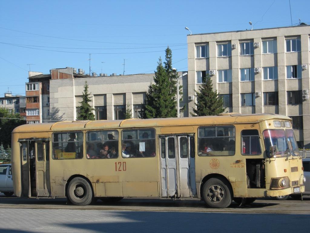 Шадринск. ЛиАЗ-677МБ к589кв