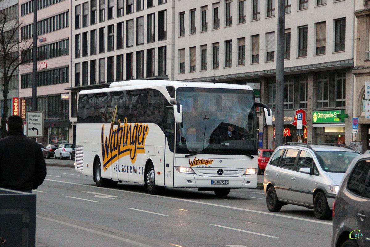 Мюнхен. Mercedes O350 Tourismo M-WA 9120