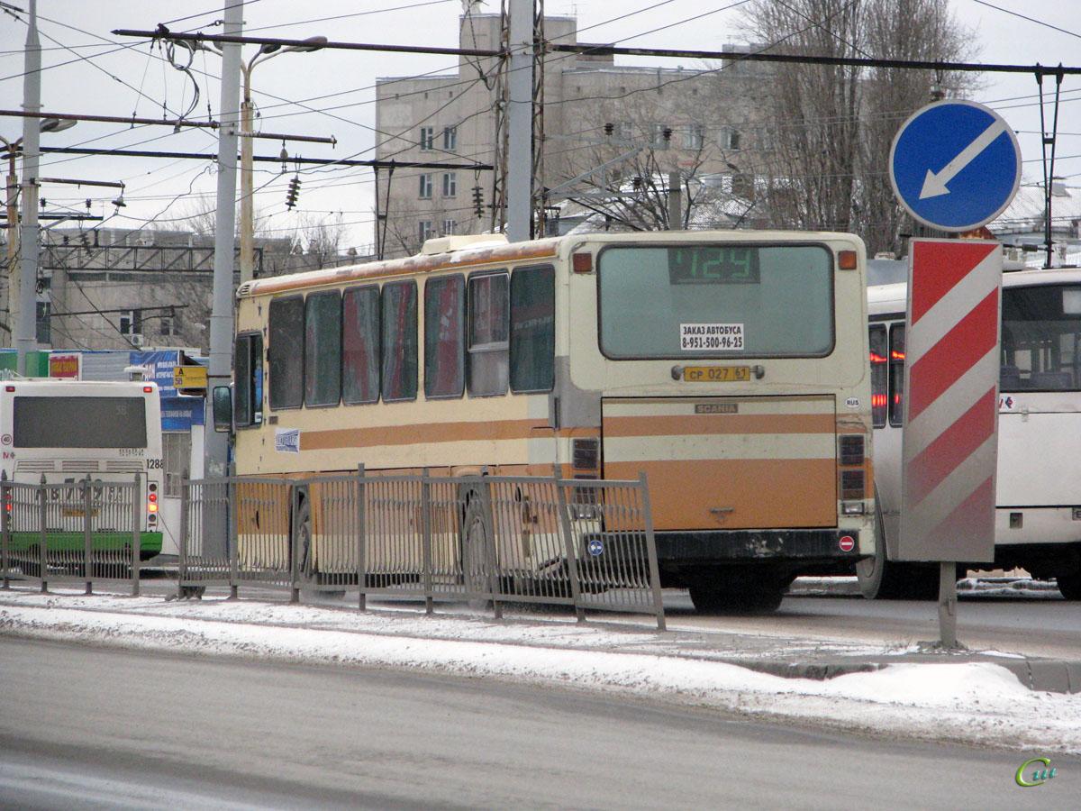 Ростов-на-Дону. Scania CR112 ср027