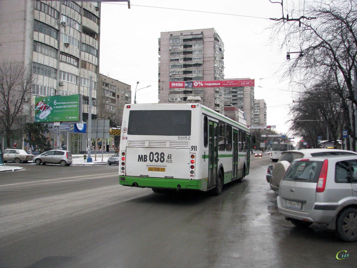 Ростов-на-Дону. ЛиАЗ-5256.53 мв038