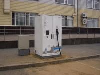 Тюмень. Зарядка для электробуса ЛиАЗ-6274