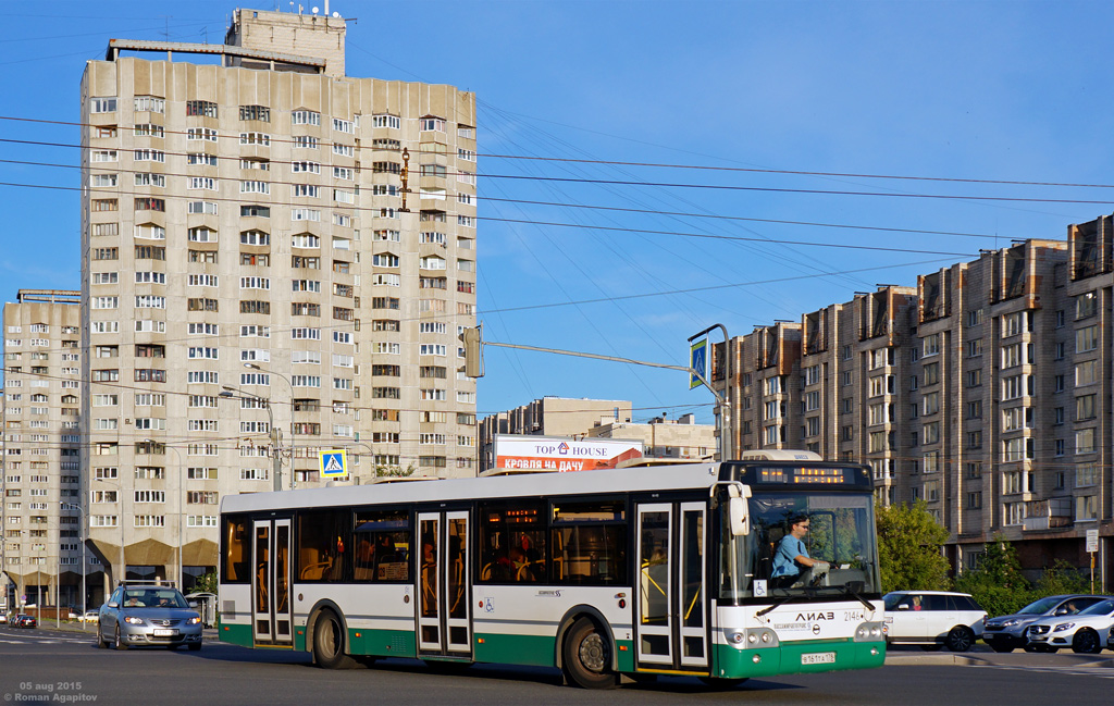Санкт-Петербург. ЛиАЗ-5292.60 в161та