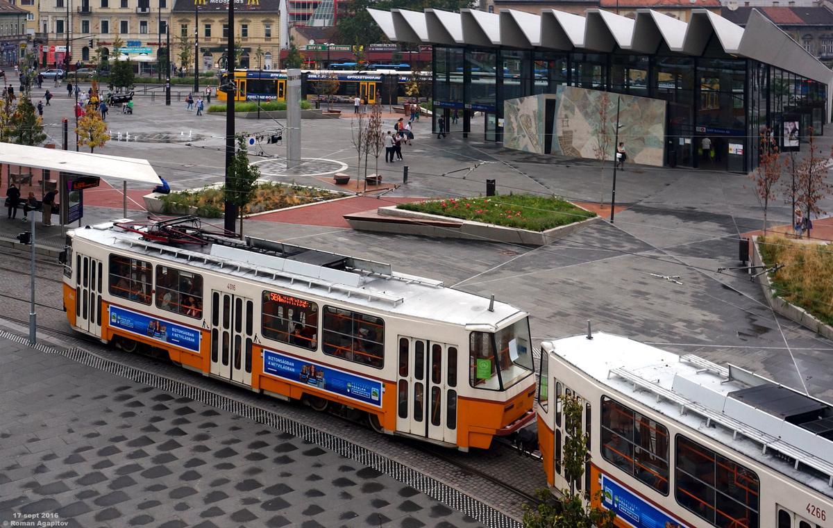 Будапешт. Tatra T5C5 №4016