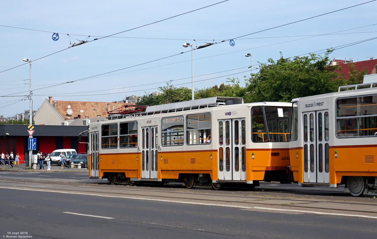 Будапешт. Tatra T5C5 №4040