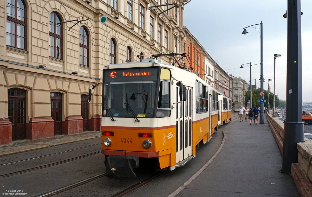 Будапешт. Tatra T5C5 №4044