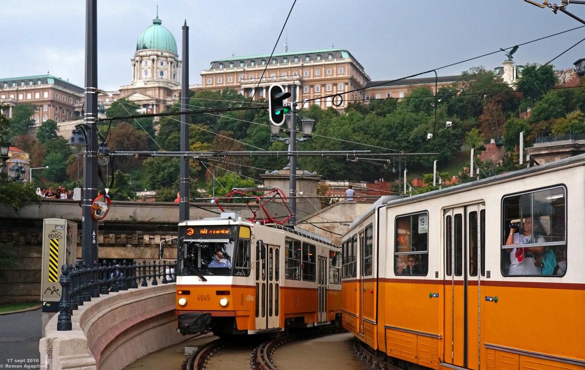 Будапешт. Tatra T5C5 №4045