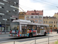Пардубице. Škoda 21Tr №393