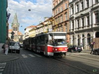 Прага. Tatra KT8D5 №9020