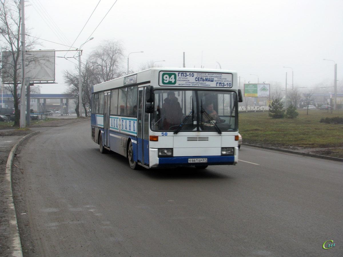 Ростов-на-Дону. Mercedes-Benz O405 е661ер