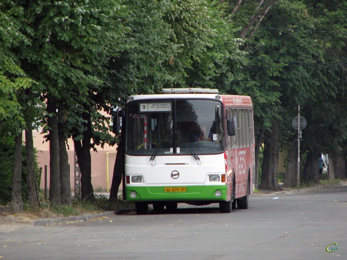 Рязань. ЛиАЗ-5256.26 ак674