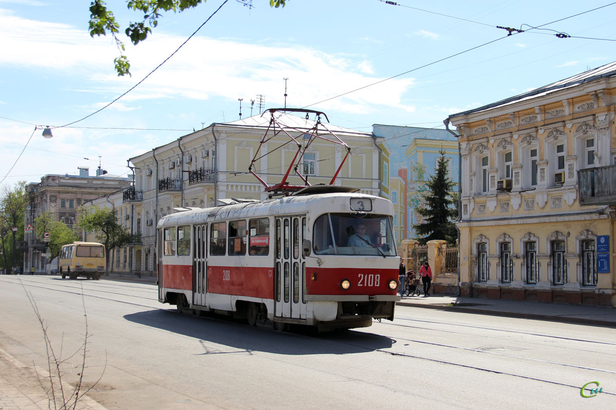 Самара. Tatra T3SU №2108