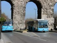 Стамбул. BMC Belde 34 AY 3456, Mercedes O345 Conecto LF 34 VB 0335