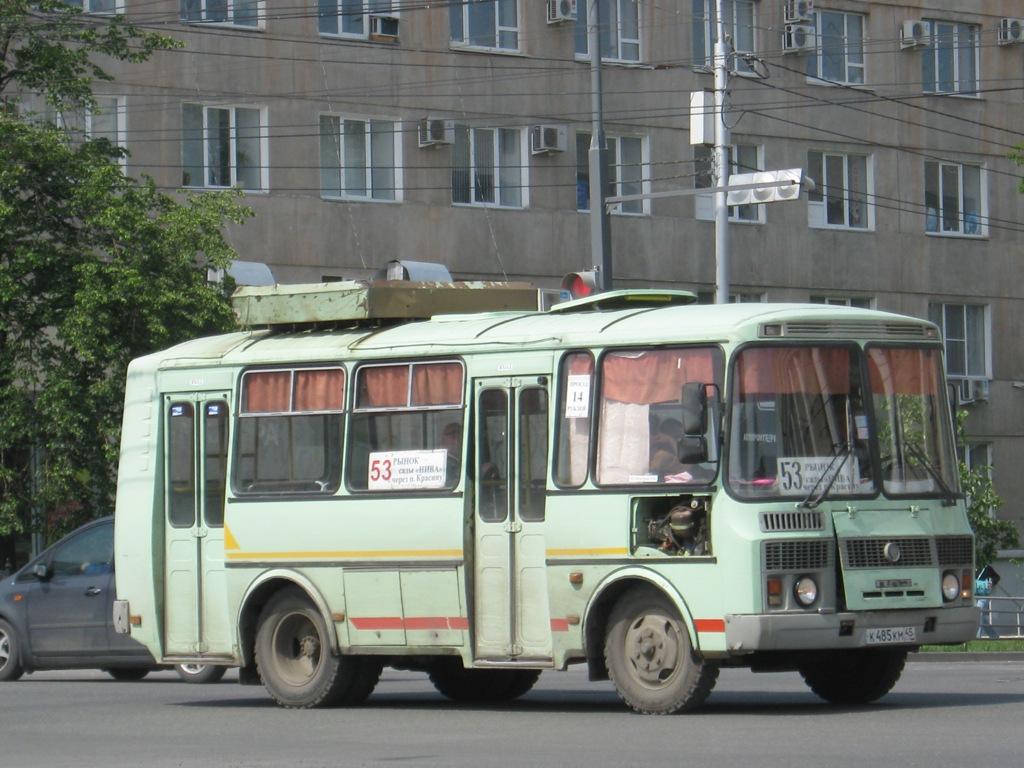 Курган. ПАЗ-32053 к485км