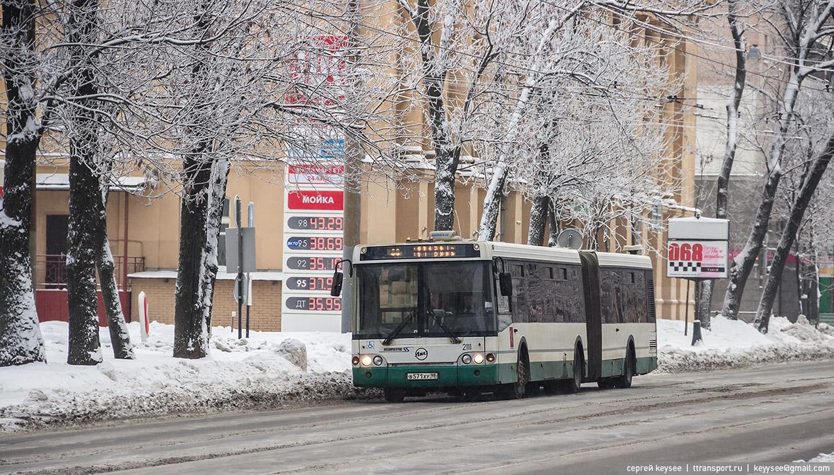 Санкт-Петербург. ЛиАЗ-6213.20 в571ху