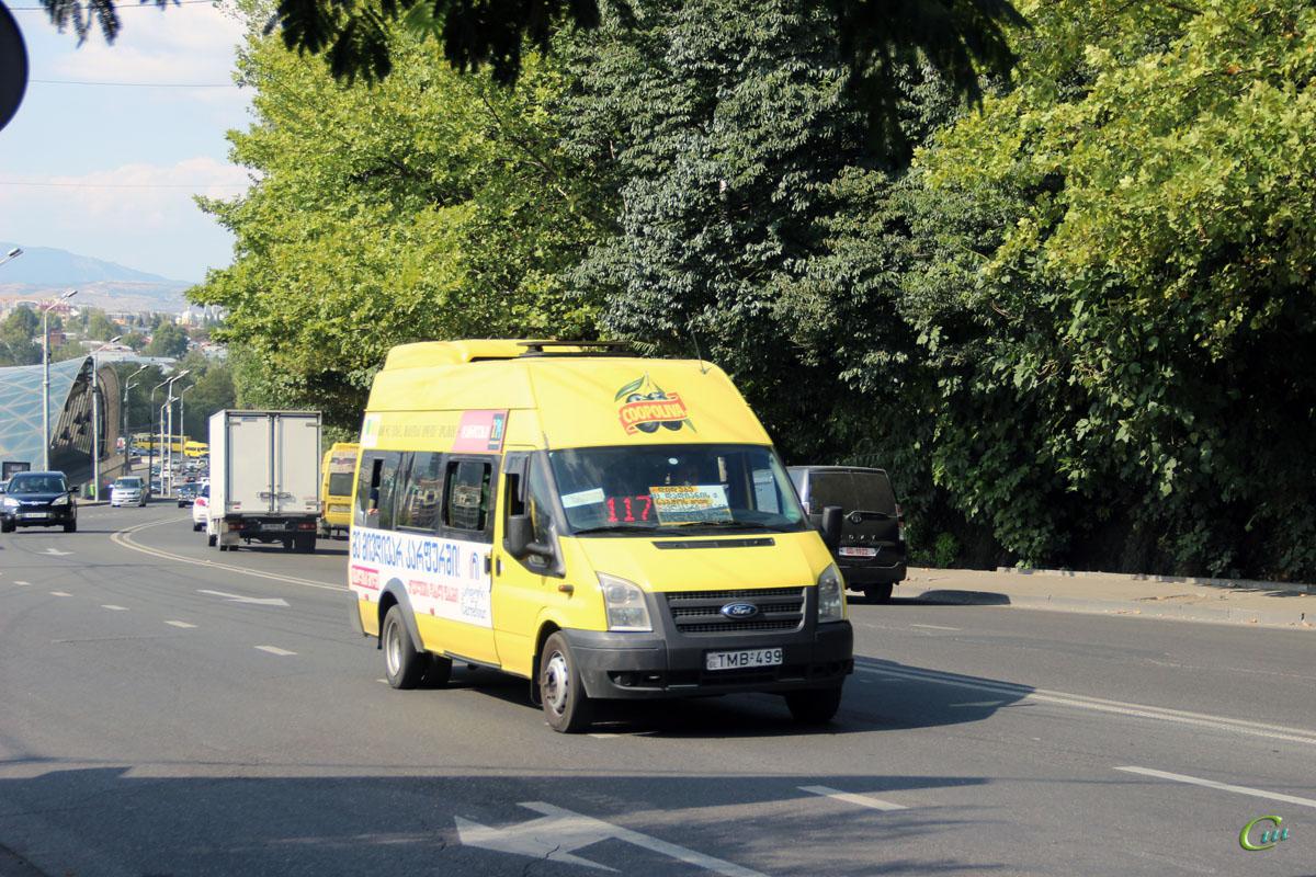 Тбилиси. Avestark (Ford Transit) TMB-499