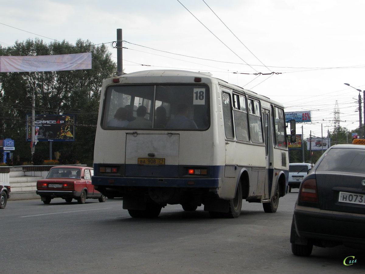 Тула. ПАЗ-3205 ва908