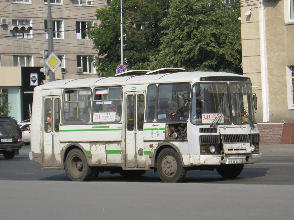 Курган. ПАЗ-32054 у915ех