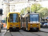 Будапешт. Duewag TW6000 №1576, Tatra T5C5 №4203