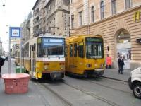 Будапешт. Duewag TW6000 №1576, Tatra T5C5 №4202