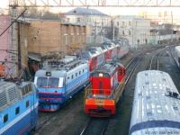 Москва. ЧМЭ3т-5789, ЧС2К-837