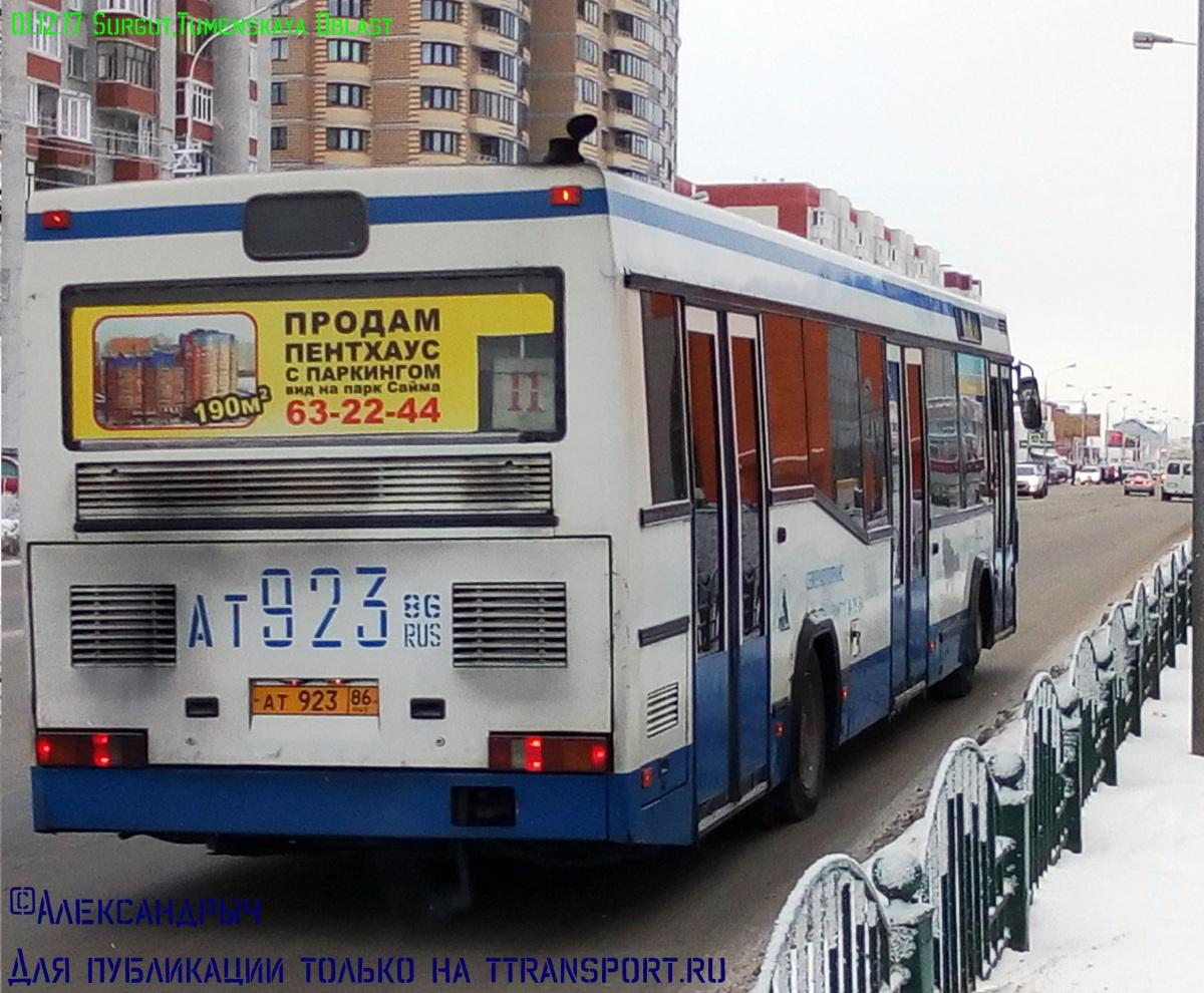 Сургут. МАЗ-104.Х25 ат923