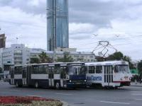 Екатеринбург. Tatra T3SU №552, Ikarus 283.10 ау447