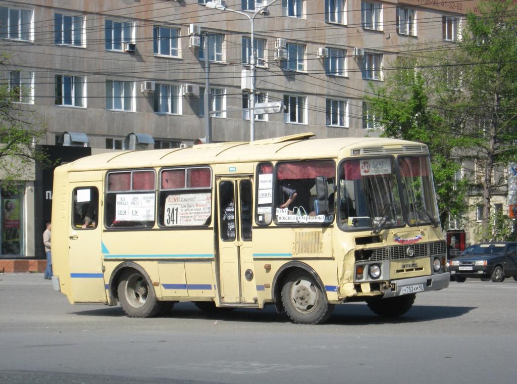 Курган. ПАЗ-32053 у752км