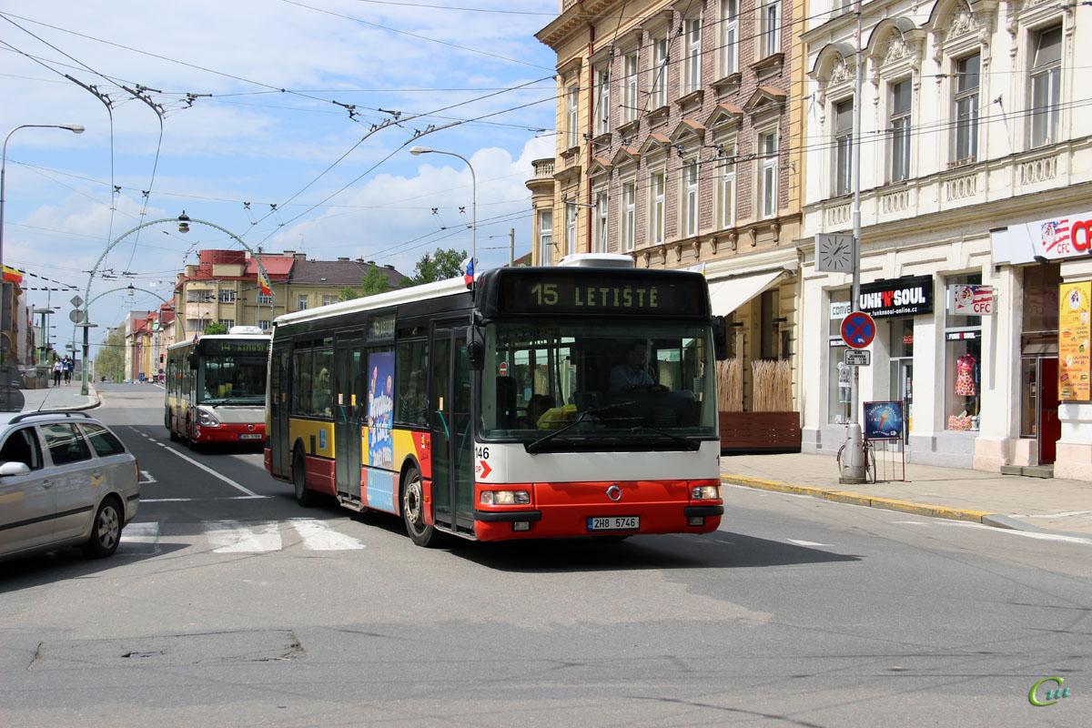 Градец-Кралове. Irisbus Agora S/Citybus 12M 2H8 5746