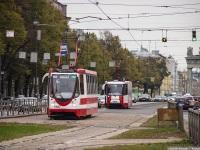 Санкт-Петербург. 71-134А (ЛМ-99АВН) №1387, 71-153 (ЛМ-2008) №1408
