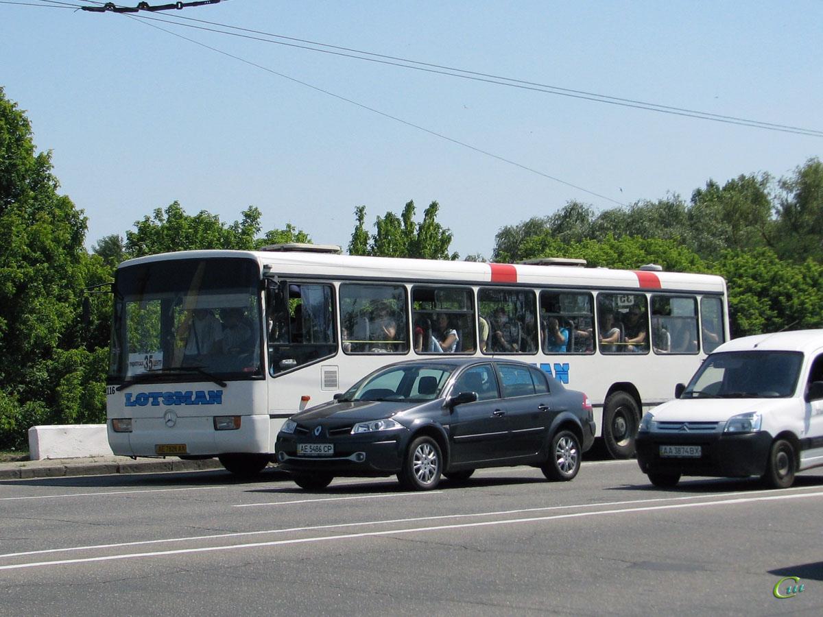 Днепропетровск. Mercedes-Benz O345U AE7828AA