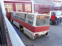 Москва. Неопознанный автобус Ikarus-260 на заводе СВАРЗ