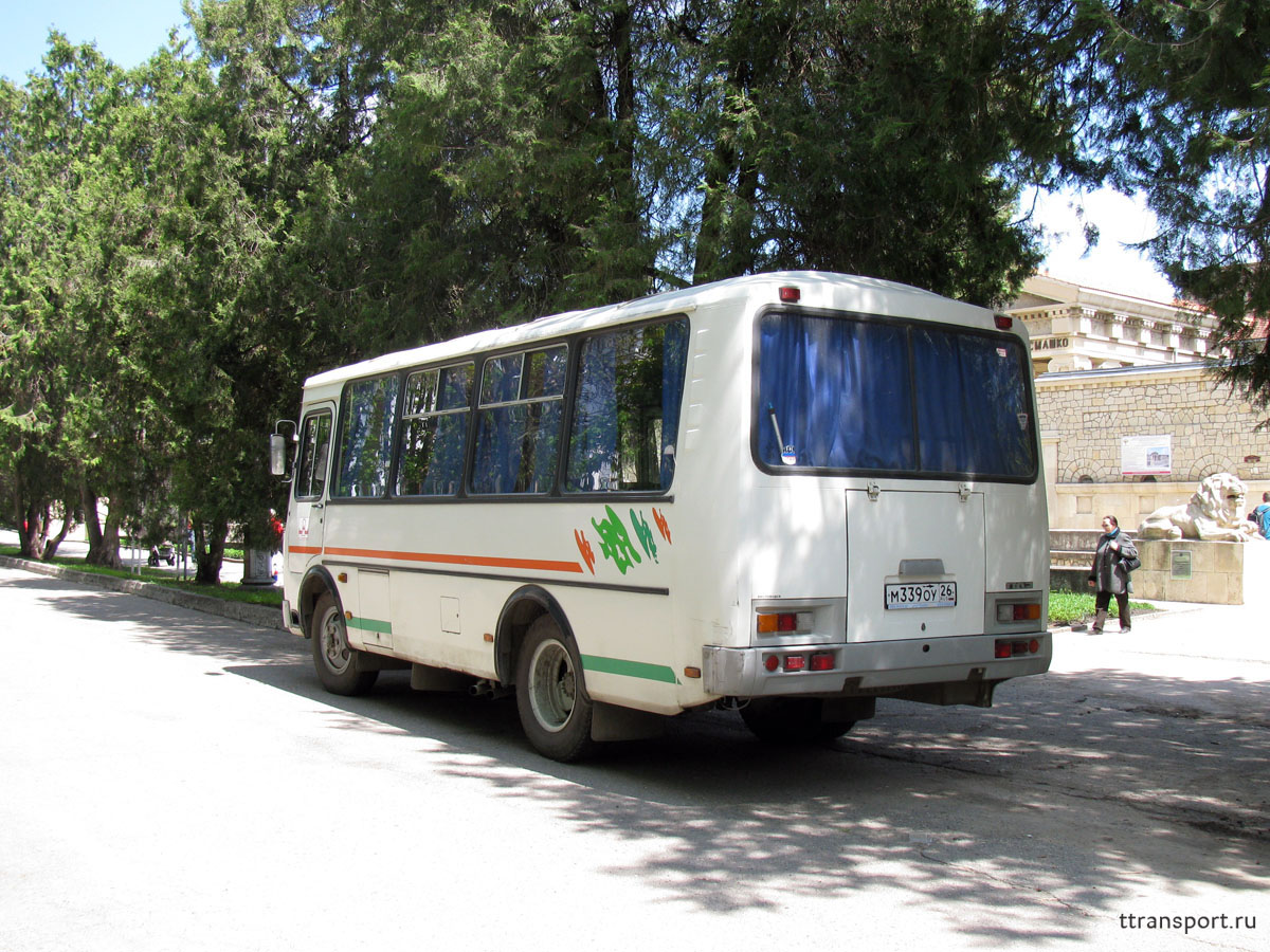 Ессентуки. ПАЗ-32054 м339оу