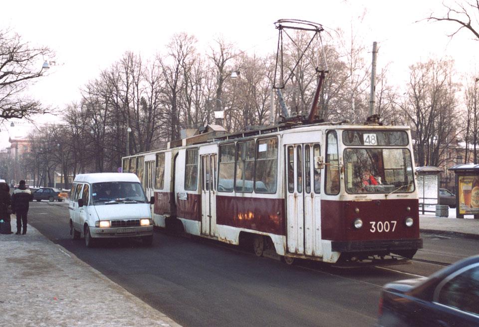 Санкт-Петербург. ЛВС-86К №3007