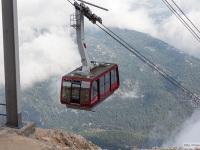 Анталья. Пассажирская канатная дорога от побережья до вершины горы Тахталы близ города Кемер