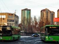 Тюмень. МАЗ-206.085 ао738, ЛиАЗ-5292.65 ао123