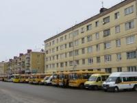 Курган. Школьные автобусы обслуживают праздничные мероприятия Ёлка Губернатора