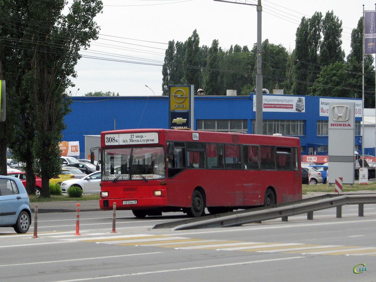 Липецк. MAN SL202 н810ме