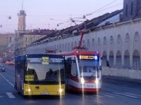 Санкт-Петербург. АКСМ-843 №5213, МАЗ-206.068 в856мк