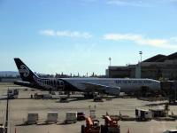 Лос-Анджелес. Самолет Boeing 777 (ZK-OKR) авиакомпании Air New Zealand
