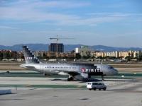 Лос-Анджелес. Самолет Airbus A319 (N531NK) авиакомпании Spirit Airlines