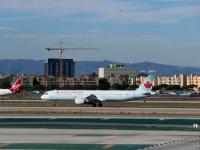 Лос-Анджелес. Самолет Airbus A321 (C-FGKZ) авиакомпании Air Canada