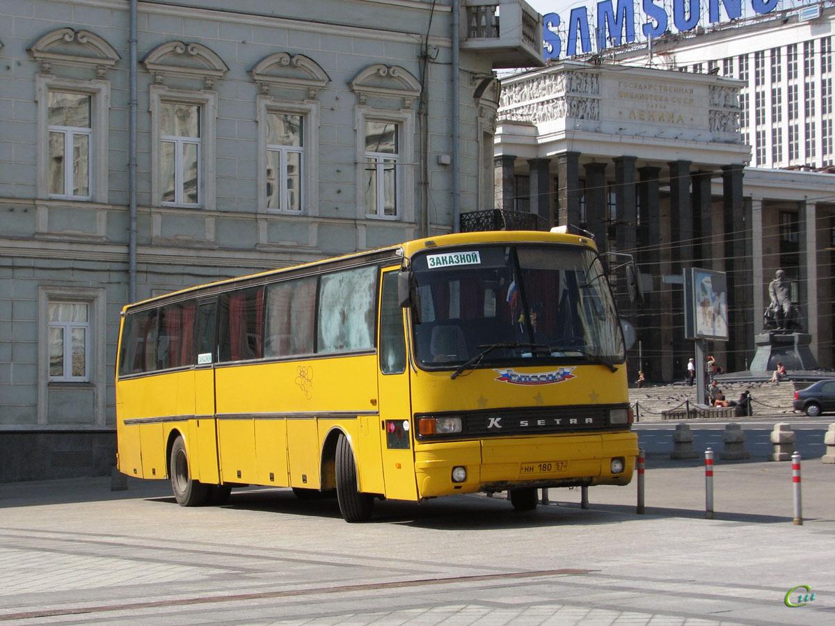 Москва. Setra S215H нн180