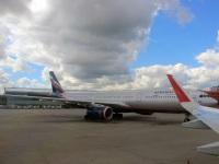 Москва. Самолет Airbus A330 (VQ-BPI) Лев Яшин авиакомпании Аэрофлот (Aeroflot)