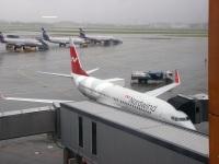 Москва. Самолет Boeing 737 (VQ-BDC) авиакомпании Nordwind Airlines